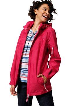creation l premium sympatex-jack in ventilerende, wind- en waterbestendige kwaliteit rood