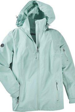 creation l premium sympatex-jack in ventilerende, wind- en waterbestendige kwaliteit groen