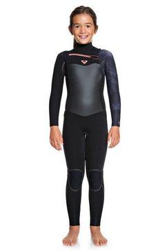 roxy wetsuit met een borstrits »4-3mm syncro plus« multicolor