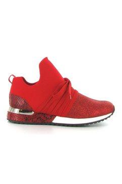 la strada slip-on sneakers »fashion sneaker« rood