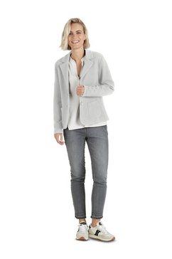 public shirtblazer »met opgestikte zakken« grijs
