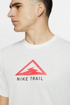 nike runningshirt »men's running t-shirt« beige