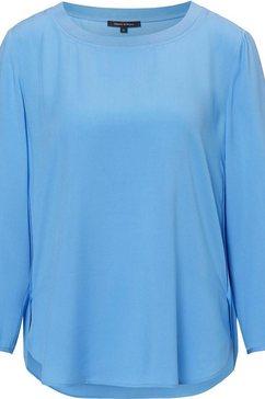 marc o'polo blouse zonder sluiting blauw