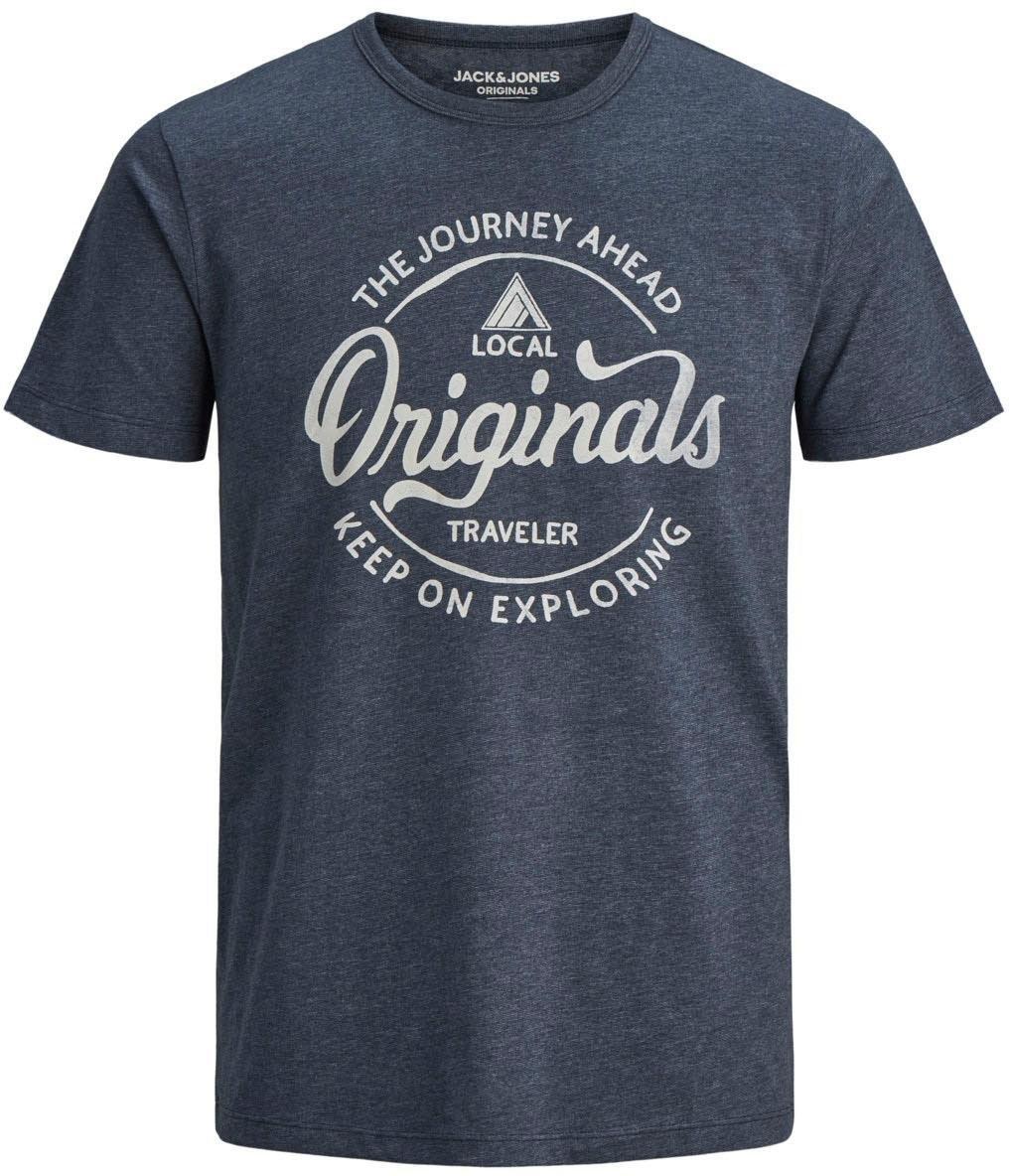 Jack & Jones T-shirt »NAMEN TEE« nu online kopen bij OTTO