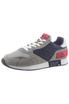la martina sneakers grijs