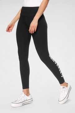 converse legging »womens wordmark legging« zwart