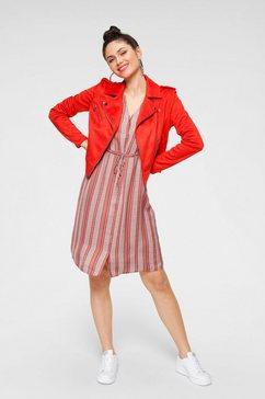 vero moda blousejurkje »vmjuna« rood