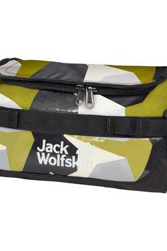 jack wolfskin toilettas »expedition wash bag« groen
