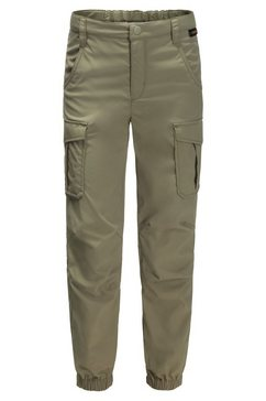 jack wolfskin functionele broek »treasure hunter pants kids« beige