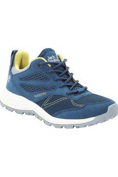 jack wolfskin wandelschoenen blauw