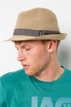 jack wolfskin trilby »travel hat« beige