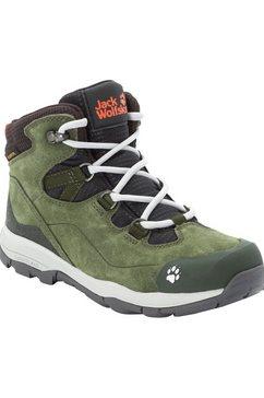 jack wolfskin outdoorschoenen »mtn attack 3 lt texapore mid k« groen