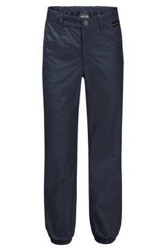 jack wolfskin functionele broek »lakeside pants kids« blauw