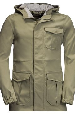 jack wolfskin functioneel jack »lakeside safari jacket kids« beige