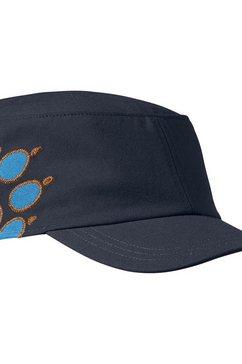 jack wolfskin fitted cap »kids companero cap« blauw