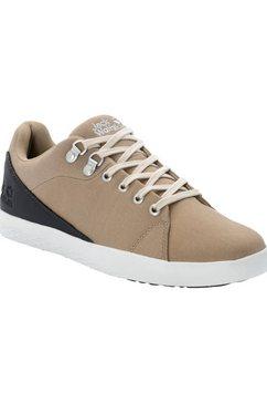 jack wolfskin sneakers »auckland ride low m« beige