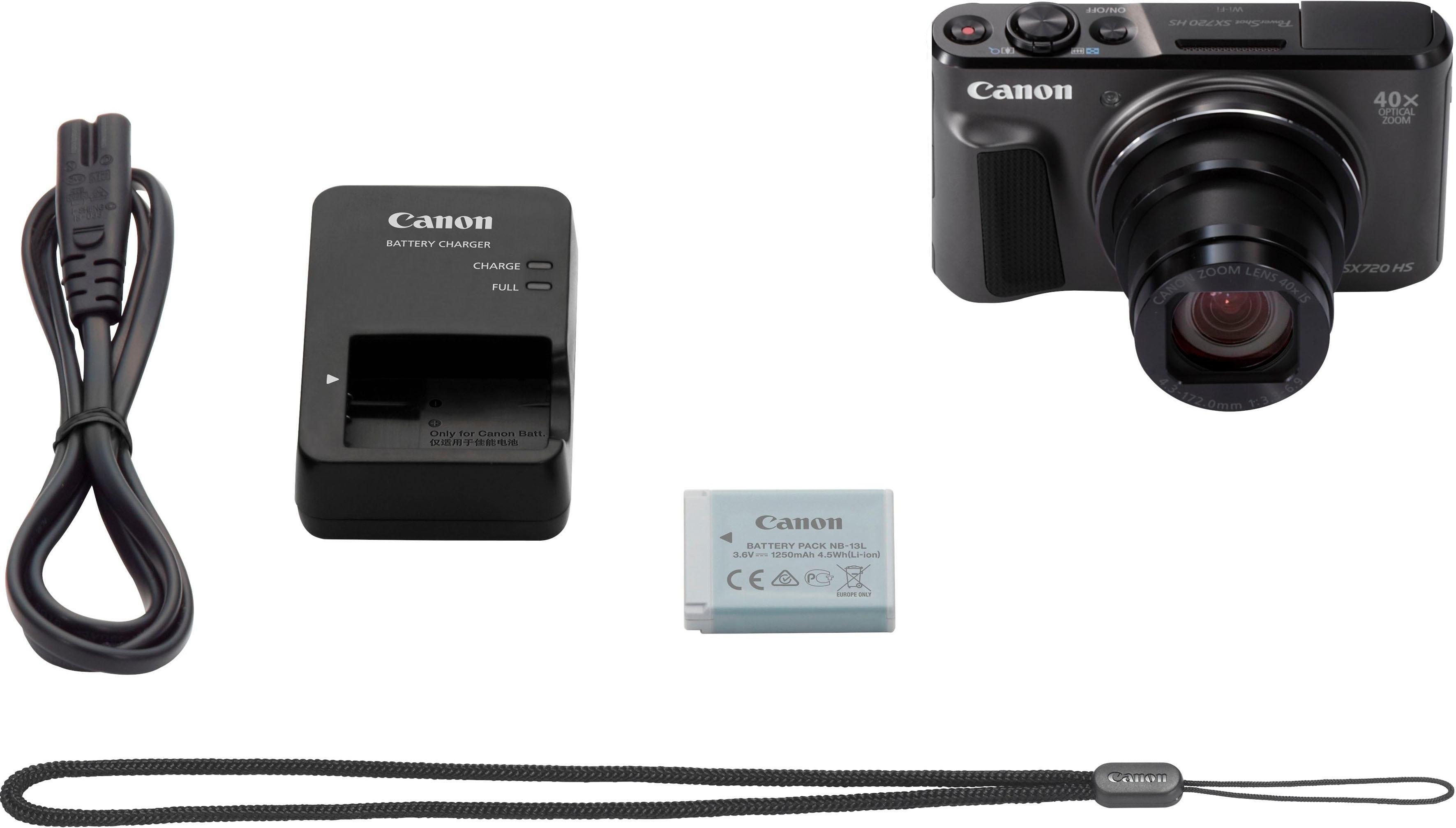 Canon compact-camera PowerShot SX720 HS - verschillende betaalmethodes