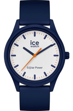 ice-watch solarhorloge »ice solar power, 017767« blauw