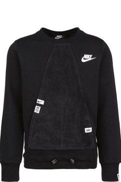 nike sweatshirt »heritage« zwart