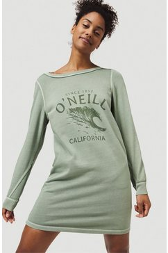 o'neill sweatjurk »sweat dress« groen