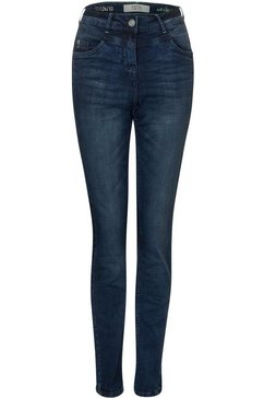 cecil skinny fit jeans »toronto« blauw