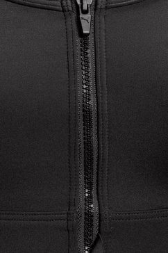 puma sport-bh »high impact front zip bra« zwart