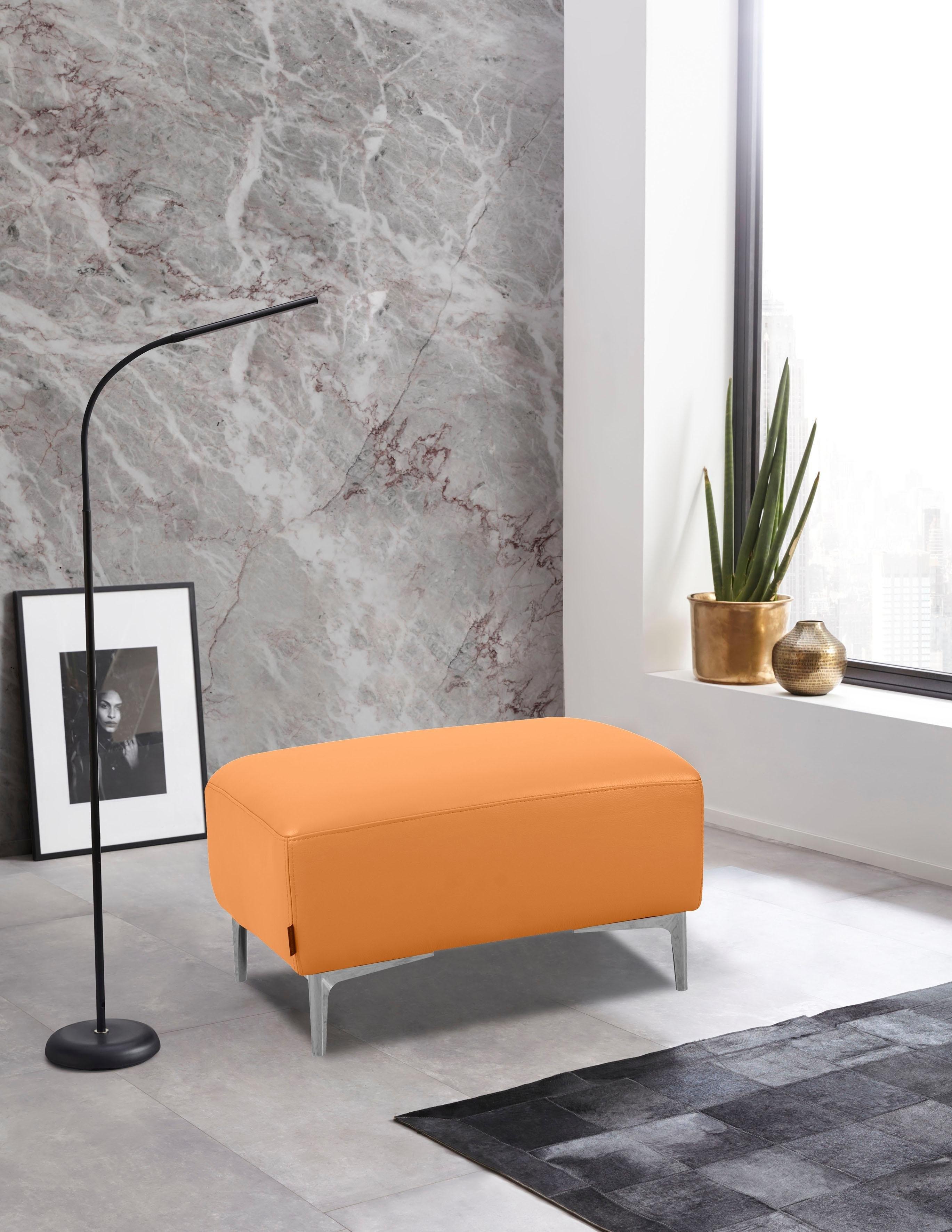 Places of Style Hocker Akron modern design in twee stofkwaliteiten - gratis ruilen op otto.nl