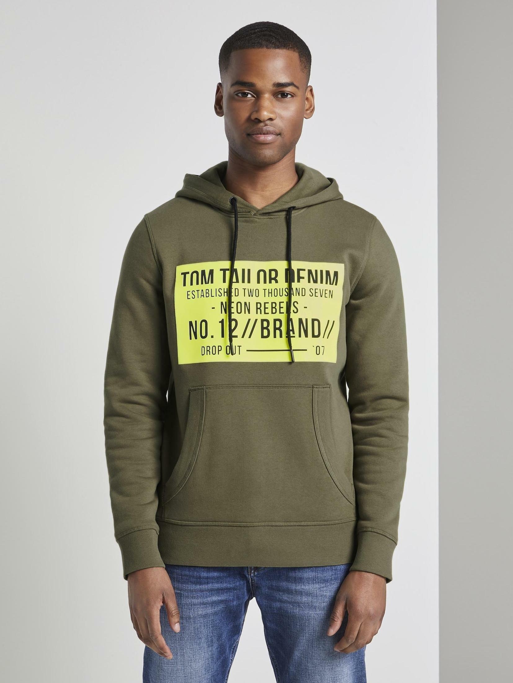TOM TAILOR Denim hoodie online kopen op otto.nl