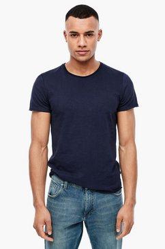q-s designed by basic shirt van slubgaren blauw