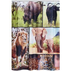 douchegordijn »africa« multicolor