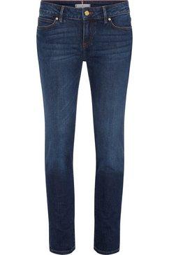 tommy hilfiger slim fit jeans »heritage milan slim lw« blauw