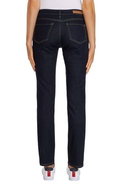 tommy hilfiger straight jeans »heritage rome straight rw« blauw