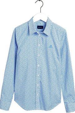 gant overhemdblouse blauw
