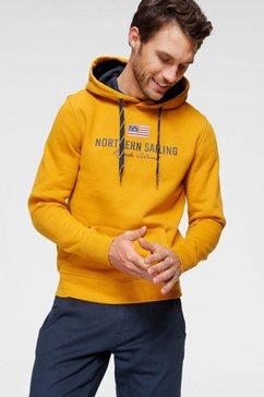 rhode island hoodie geel