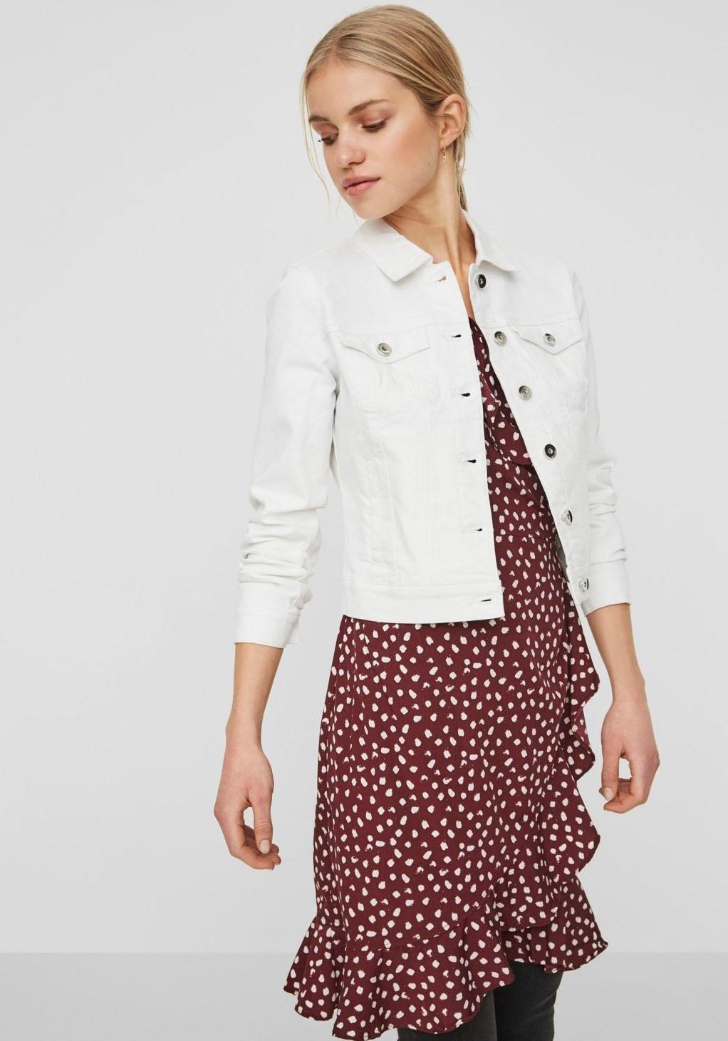 VERO MODA jeansjack »VMHOT SOYA« goedkoop op otto.nl kopen