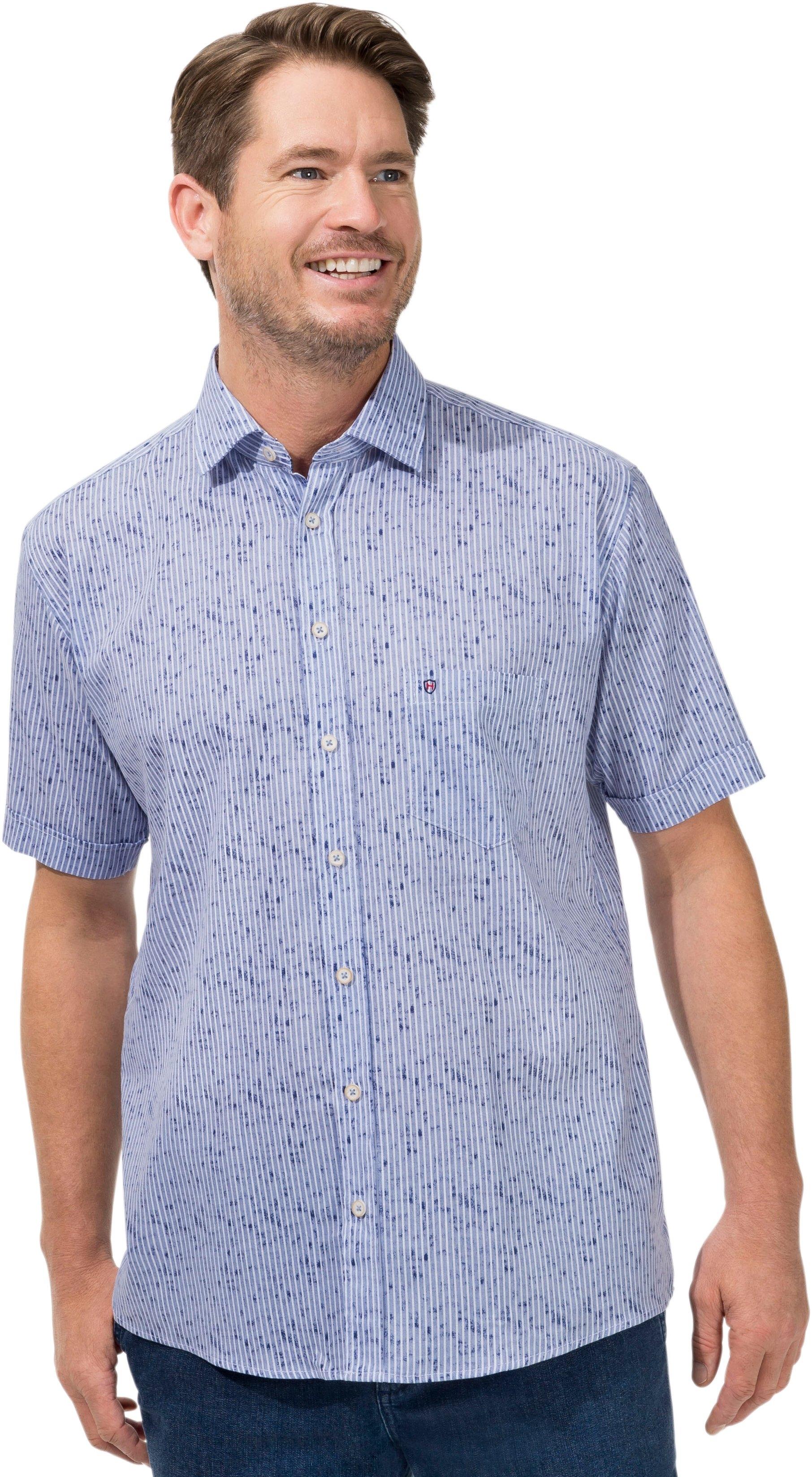 Hatico overhemd met korte mouwen - verschillende betaalmethodes