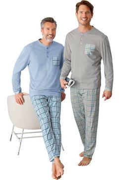 king's club pyjama blauw