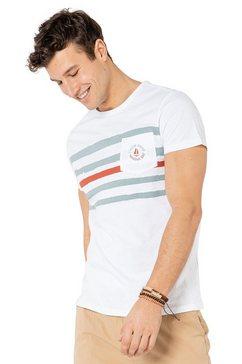 sublevel shirt met ronde hals wit