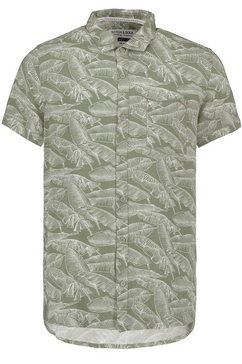 stitch  soul overhemd met korte mouwen groen