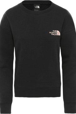 the north face sweatshirt »parks slight cropped« zwart