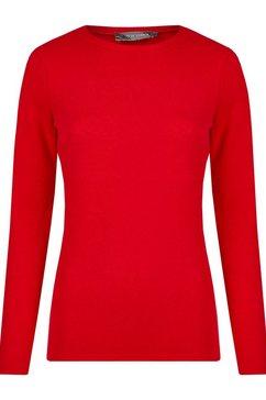 nicowa trui in unikleurig design - basina rood
