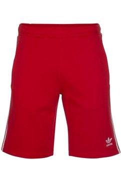 adidas originals sweatshort »3-stripe shorts« rood