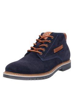 bugatti hoge veterschoenen »caj« blauw