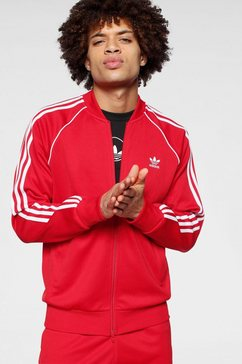 adidas originals trainingsjack »sst treacktop p blue« rood