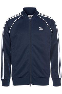 adidas originals trainingsjack »sst treacktop p blue« blauw