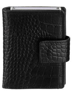 figuretta mini-portemonnee zwart