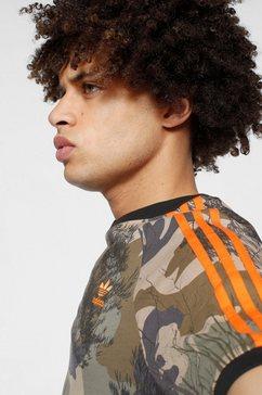 adidas originals t-shirt »camo all over print tee« bruin