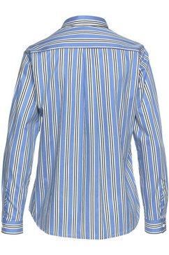 seidensticker klassieke blouse blau