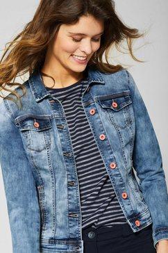 cecil jeansjack blauw
