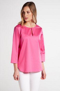 eterna blouse met lange mouwen »modern classic« roze